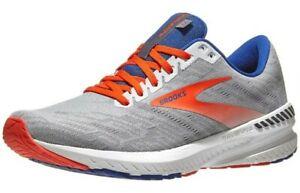 NEW Men's SZ 8D, BROOKS Ravenna 11 Running Sneaker GREY / CHERRY 1103301D049