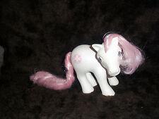 Vintage My Little Pony 'Sundance', MLP white pink G1, Earth Pony