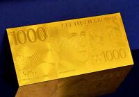 """★★ SUEDE / SWEDEN : BILLET POLYMER  """" OR """" DU 1000 KRONOR ★"""