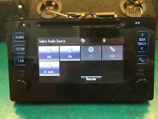 Toyota 86140-02520 2016-2017 Corolla Touch Screen Radio100639 OEM
