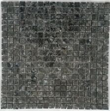 Granit Mosaik Matte Blue Pearl 30x30 cm 1,5x1,5 poliert Naturstein Fliesen M044