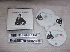 CD Schlager Marlene Dietrich - Golden Greats 3CD Box (47 Song) DISKY