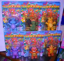 #7988 RARE Vintage NOC Hasbro Disney Set of 6 Wuzzles Figures