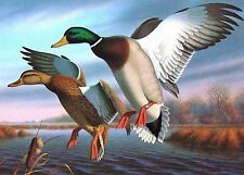 1988 Virginia Duck Stamp Press Proof by artist Ron Louque