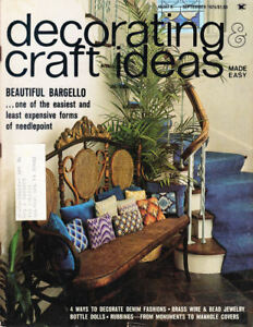 Craft Books: #1472 Decorating & Craft Ideas Sept 1975