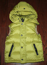 AUTH $350 Burberry Children Boy Hooded Down Vest 10Y (for Kids)