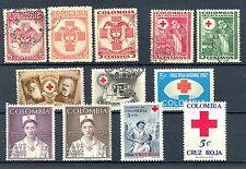 COLOMBIA 12 ST.  RED CROSS  */0