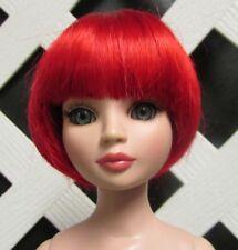 "Monique Gold Doll Wig ""Bubbles"" Size 7/8 - Red"