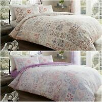 Amira Duvet Quilt Cover Bedding Linen Set with Pillow Cases