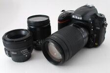 Nikon D750 24.3MP 28-80/70-300/50mm Lens Set [Exc+++] w/8GB SD Card,Strap [511]