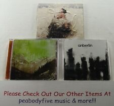 Lot Of 3 Anberlin Cds - Tooth & Nail Records - Cities Surrender Vital Free S/H*