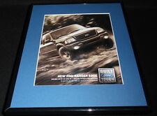 2001 Ford Ranger Framed 11x14 ORIGINAL Vintage Advertisement
