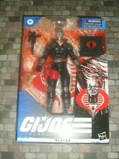 HASBRO GI-JOE 6-INCH CLASSIFIED SERIES DESTRO   IN-STOCK