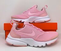 YOUTH Womens Nike Presto Fly (GS) Pink white Running GYM Workout Shoes Size 7Y