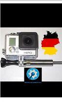 Actioncam GoPro Motorrad Halterung Edelstahl Befestigung M6 Adapter Somikon Hero