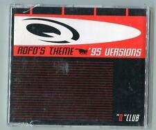 Q Club cd-maxi ROFO'S THEME '95 Versions Mixes 4-track Dance Street DST 1389-8