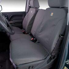 Covercraft SSC3381CAGY Carhartt Duck Weave 1st Row Seat Covers Carhartt Gravel