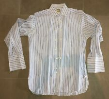 Thomas Pink Men's French Cuff Shirt Size 15 x 33