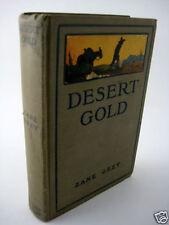 DESERT GOLD Zane Grey WESTERN Grosset Photoplay Edition FICTION Classic NOVEL