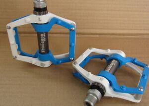 """Aluminum Platform MTB Road Bike pedals 9/16"""" Mixture Colors 1 Pair"""