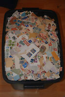 Weeda 1 lb of Worldwide mixture on and off paper, Random pound mix/kiloware lots