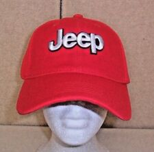 JEEP HAT RED FREE SHIPPING GREAT GIFT
