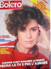 BOLERO n°1911 1983 Corinne Clery Michela Miti Michael Sembello Irene Cara [D29]