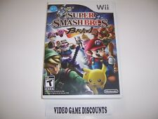 Original Box Replacement Case for Nintendo Wii - SUPER SMASH BROS. BRAWL