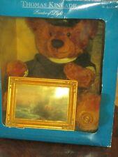 "Rare Thomas Kinkade ""The Light of Peace"" 14"" Sailor Bear and 7"" Framed Picture"