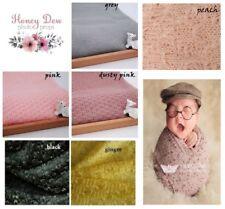 NEW Super Soft Knit Open Weave Fabric  Baby Newborn Wrap Maternity Photo Prop
