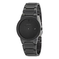 NEW* Citizen AU1065-58E Eco-Drive Axiom Date Dial Black Ion Men's Watch