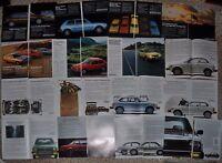 1976-79 HONDA CIVIC advertisements x16, Honda Civic CVCC Accord Prelude