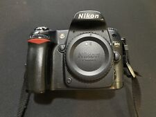 Nikon D80 10.2 Megapixel Digital SLR Camera - Black (Body Only) Used