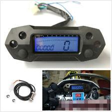 Motorcycle LCD Speedometer Digital Odemeter Electric Injection&Carburetor Meter
