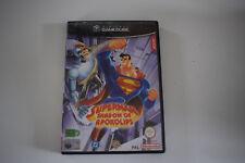 superman super man shadow of apokolips nintendo gamecube game cube pal