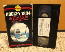 NHL hockey review 1994 Jaromir Jagr & Eric Lindros New Jersey Devils VHS Messier