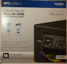 Brother MFC-J497DW  Wireless All-In-One Inkjet Printer - BRAND NEW SEALED BOX