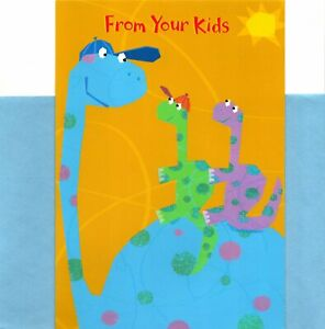 Happy Father's Day Dad From Your Dinosaur Dinosaurs Theme Hallmark Greeting Card
