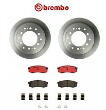 For Toyota Sequoia 2001-2007 Rear Brake Kit Disc Rotors and Ceramic Pads Brembo