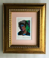 ANDY WARHOL ORIGINAL 1984 SIGNED PRINT MATTED 8X10