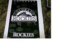 "New listing ESTATE FIND NO PINHOLES MINT 1994 COLORADO ROCKIES ""BASEBALL BLACK LOGO"" POSTER"