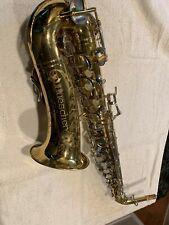 Buescher 400 vintage alto saxophone 580xxx nice shape