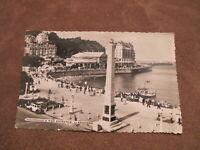 Real photo postcard - Llandudno promenade & Pier scene