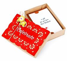 Sizzix Bigz XL Gift Card Box die #659722 MSRP $39.99 designer Lori Whitlock EASY