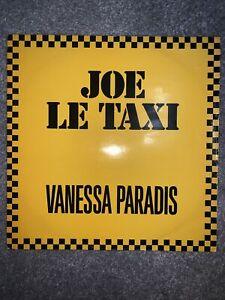 VANESSA PARADIS JOE LE TAXI  12INCH SINGLE VINYL RECORD