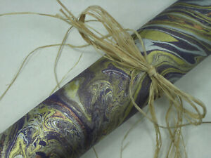 INTENSE MARBLE LOKTA PAPER--CHOOSE COLORS--TREE FREE HAND MADE IN THE HIMALAYAS