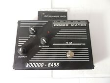Roger Mayer Voodoo Bass Distortion Effects Pedal Free USA Shipping