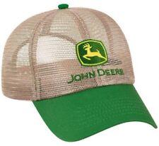 NEW John Deere Tan All Mesh Cap JD Hat LP14399