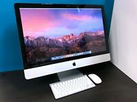 UPGRADED Apple iMac 27 inch Desktop / 3.8GHZ CORE i7 / 16GB / 3 YEAR WARRANTY!!