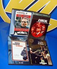 Lote de 4 peliculas DVD politica/terrorismo diferentes titulos